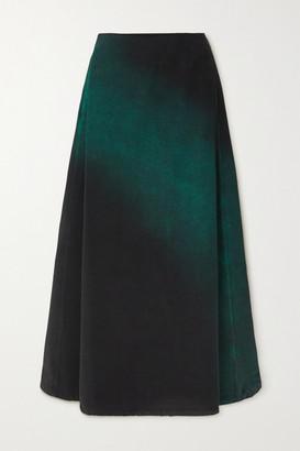 MM6 MAISON MARGIELA Denim Skirt - Green