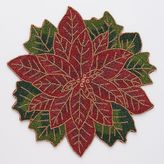 St. Nicholas Square® Poinsettia Beaded Placemat