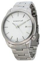 Momentum Women's 1M-SP11W0 LOGIC SS Analog Display Japanese Quartz Silver Watch