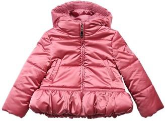 MonnaLisa Hooded Nylon Puffer Jacket