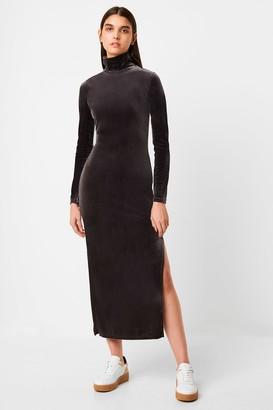 French Connection Stina Velvet Jersey Dress
