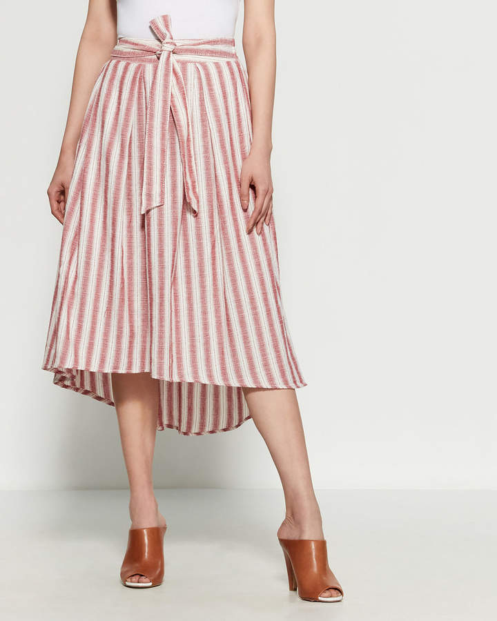 339a436b2 Cream Midi Skirt - ShopStyle