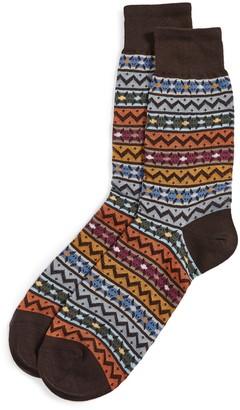 Missoni Fair Isle Print Socks