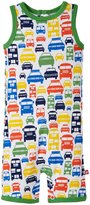 Zutano Colorful Cars Suit (Baby) - White - 12 Months