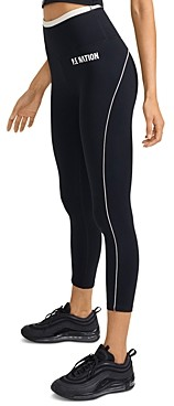 P.E Nation Match Play Piped Leggings