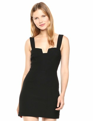 Finders Keepers findersKEEPERS Women's Luna Bodycon Crepe Mini A-line Dress