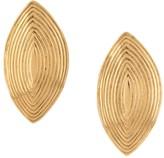 Saint Laurent Pre Owned 1980s art diamond-shape earrings