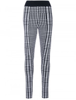 Balmain Prince of Wales checked leggings