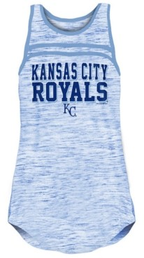 5th & Ocean Kansas City Royals Women's Space Dye Tank