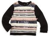 Milly Minis Toddler's, Little Girl's & Girl's Sequin Fringe Sweater