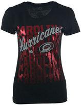 VF Licensed Sports Group Women's Carolina Hurricanes Hip Check T-Shirt