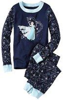 Kids Disney Frozen Long John Pajamas In Organic Cotton
