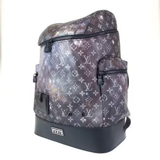 Louis Vuitton Alpha Backpack Blue Cloth Bags