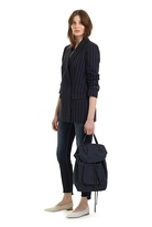 Country Road Double Breasted Pinstripe Blazer