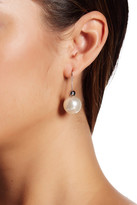 Rebecca Minkoff Faux Pearl Back Threader Earrings