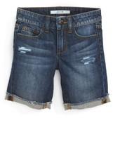 Joe's Jeans Girl's Frayed Cuff Bermuda Shorts