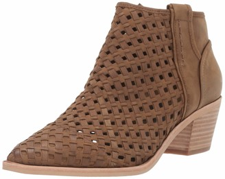 Dolce Vita Women's Spence Ankle Boot Olive Nubuck 9.5 M US