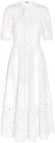 Temperley London Berry Lace Necktie Dress