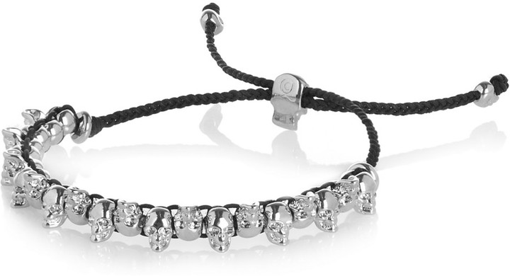 Alexander McQueen Skull-embellished friendship bracelet