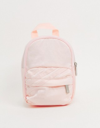 adidas trefoil mini backpack in pink