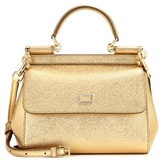 Dolce & Gabbana Miss Sicily Small Leather Shoulder Bag