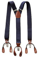 Roundtree & Yorke Big & Tall Solid Suspenders