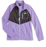 The North Face Girl's Glacier Water Resistant Track Jacket