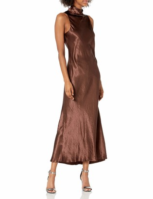 Vince Women's Turtleneck Tie Dress