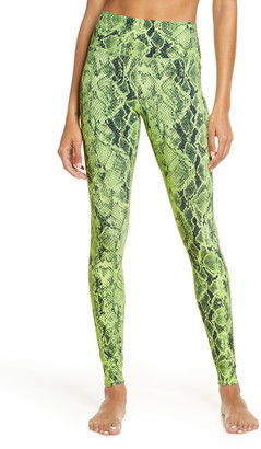Alo High Waist Snake Print Leggings