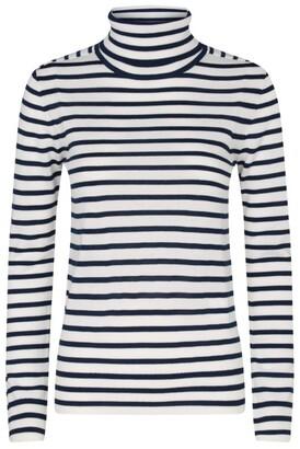 Claudie Pierlot Striped Rollneck Sweater
