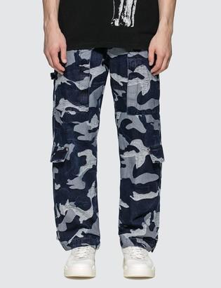 Valentino Denim Cargo Pants
