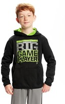 Old Navy Go-Dry Relaxed Reflective Graphic Hoodie for Boys