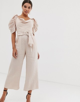 C/Meo Collective through you jumpsuit-Pink