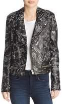 Iro . Jeans IRO.JEANS Palma Leather Moto Jacket