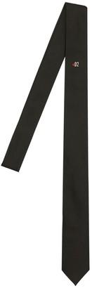 DSQUARED2 5cm Maple Leaf D2 Silk Tie
