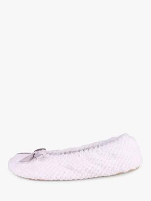 totes Memory Foam Popcorn Ballet Slippers