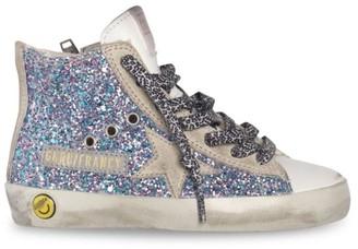 Golden Goose Baby's, Little Girl's & Girl's Fancy Glitter Leather Hi-Top Sneakers