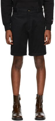 Noah NYC Black Military Shorts
