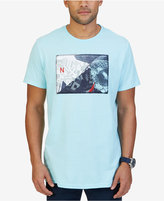 Nautica Men's Big & Tall Graphic Print Cotton T-Shirt