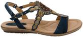 Earth Sunbeam Morroccan Blue Sandal