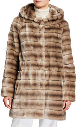 Faz Not Fur Oh My Deer Faux Fur Coat