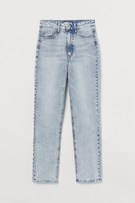 H&M Slim Straight High Jeans
