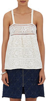 Sea Women's Guipure Lace Tank-CREAM