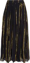 Mes Demoiselles Bosphore cotton-blend gauze maxi skirt
