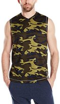 Vintage by Majestic International Men's Camo Ath Leisure Muscle Top