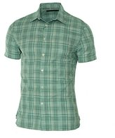 Perry Ellis Men's Short Sleeve Multi Color Check Shirt