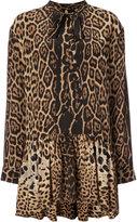 Saint Laurent lavaliere mini dress - women - Silk - 38
