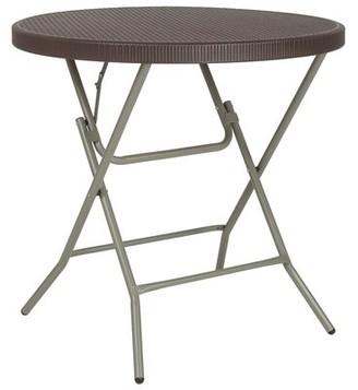 Flash Furniture 31.5'' Circular Folding Table