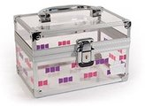 Caboodles My Style Small Acrylic Train Case, 0.77 Pound