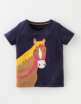 Boden Animal Applique T-shirt